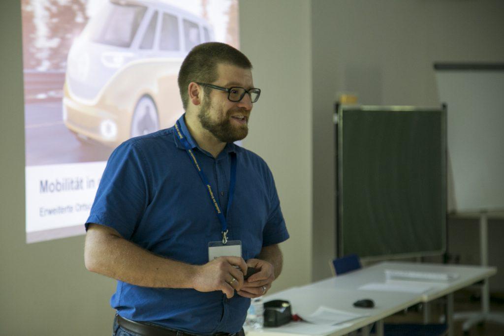 Martin Benedict beim Mobilitätsworkshop
