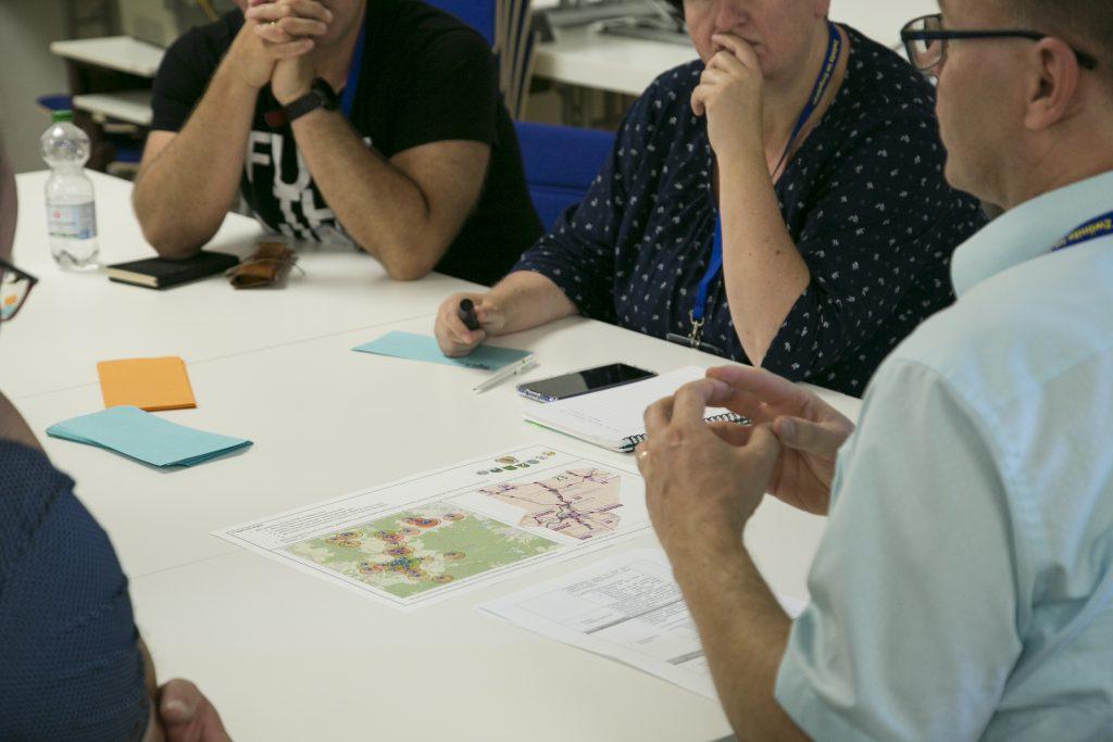 Diskussion zum 1. Mobilitätsworkshop